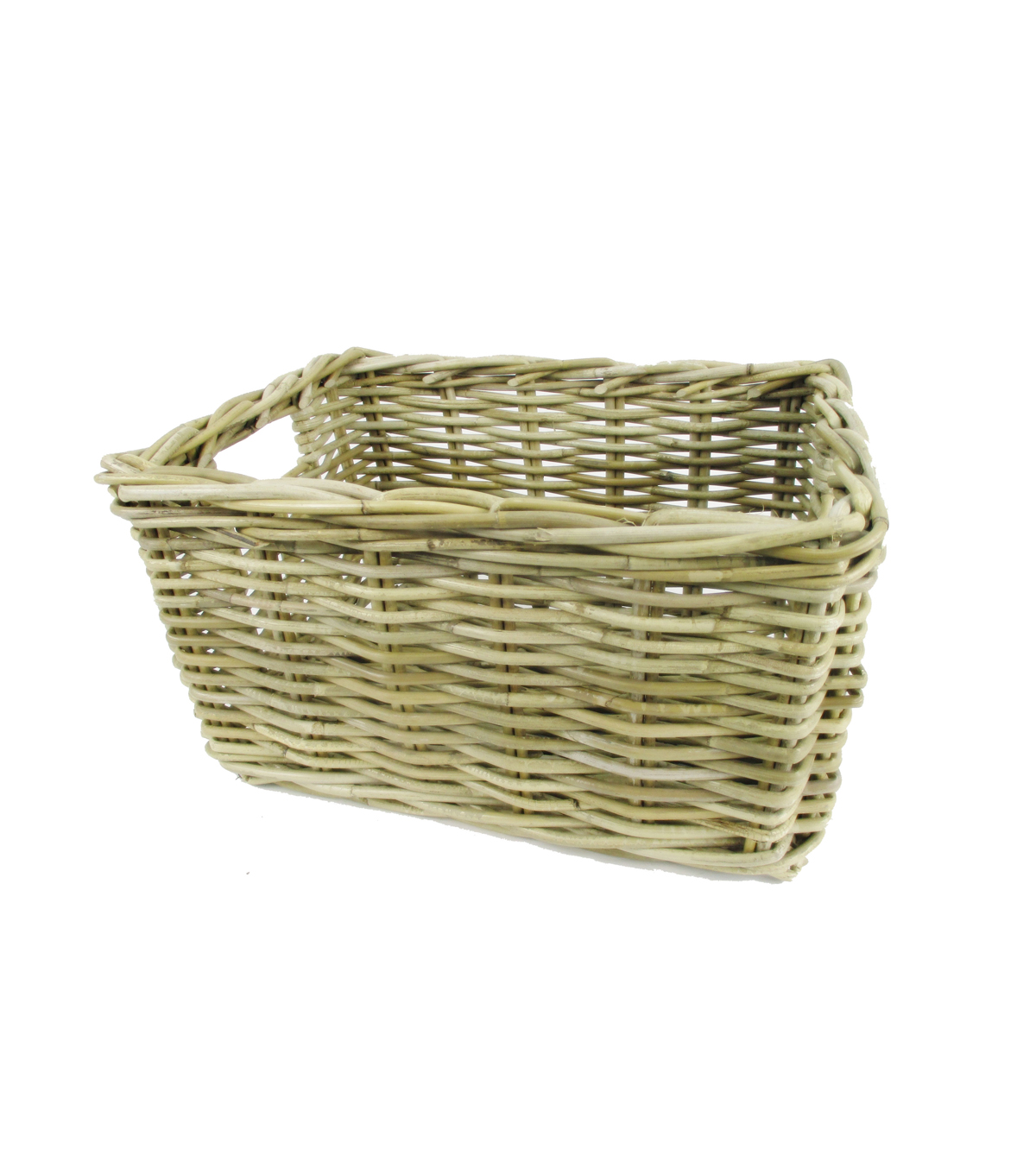 Organizing Essentials Medium Kubu Rattan Rectangular Basket