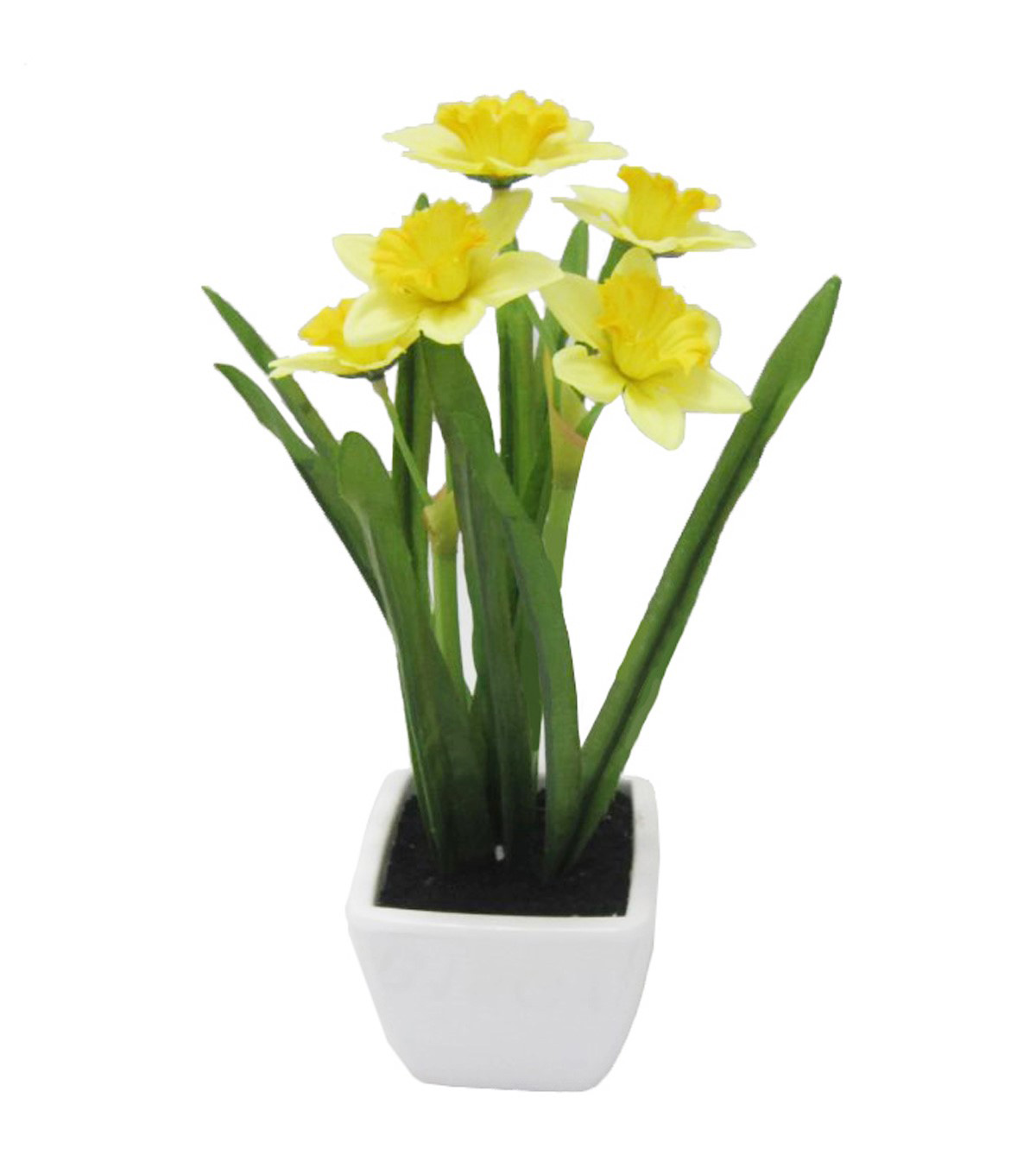 Fresh Picked Spring 10\u0027\u0027 Narcissus in Container-Yellow