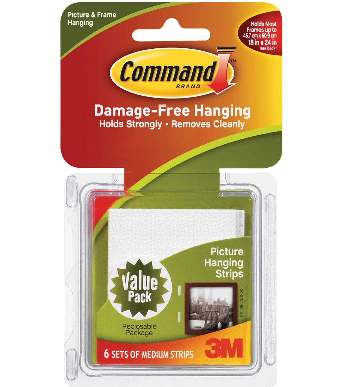 Command Medium Picture Hanging Strips JOANN