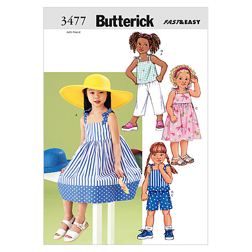 Butterick Child Casual-B3477