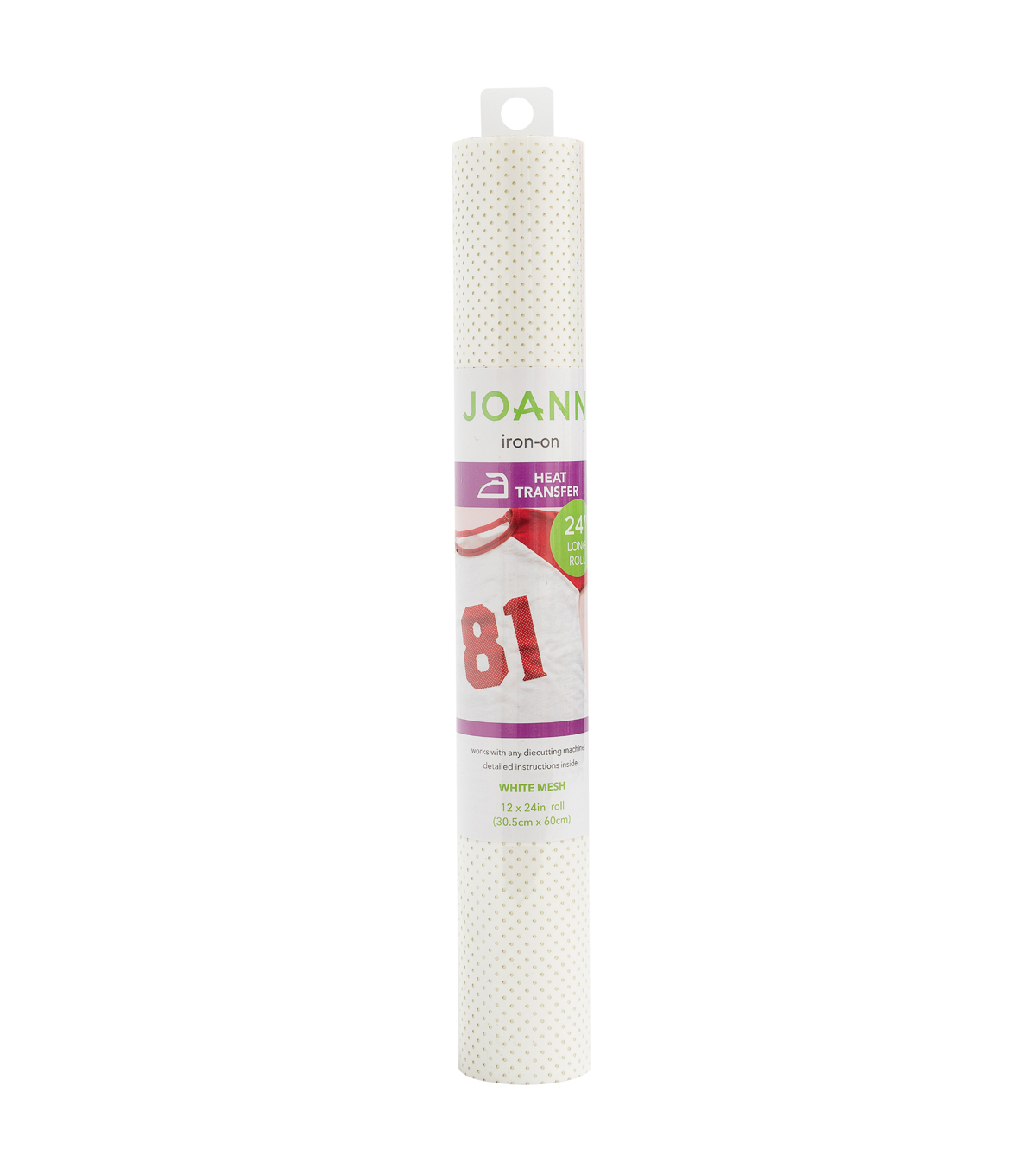 Joann Iron-On 12\u0022x24\u0022 Mesh Roll-White