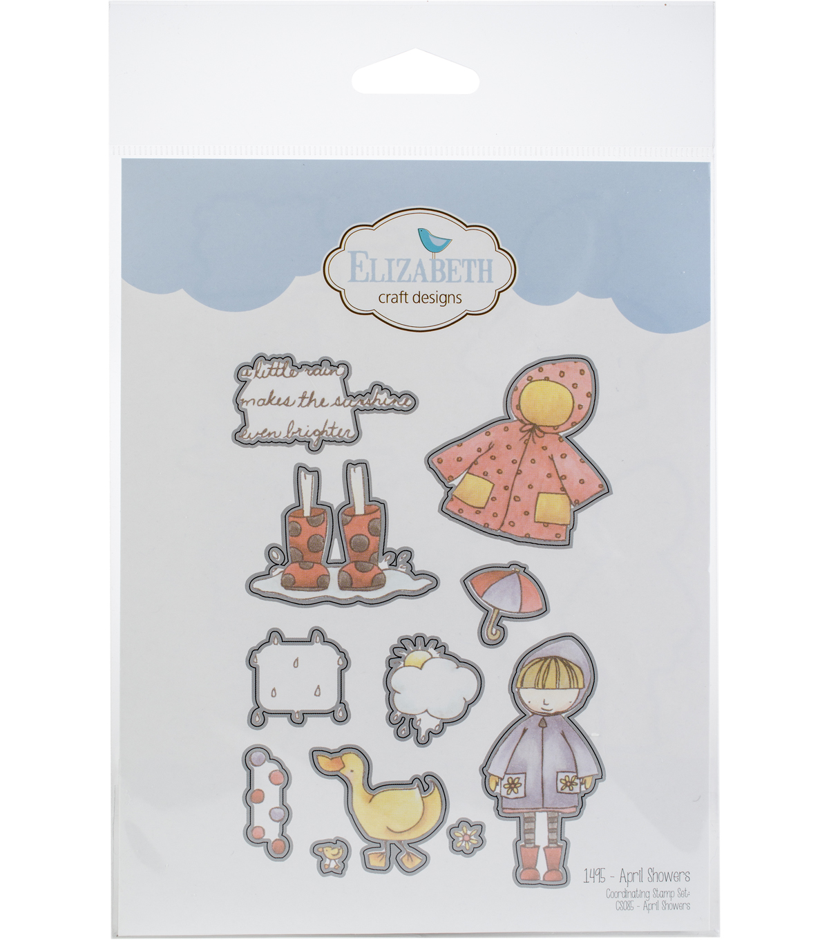 Elizabeth Craft Designs 11 Pk Metal Dies April Showers Joann