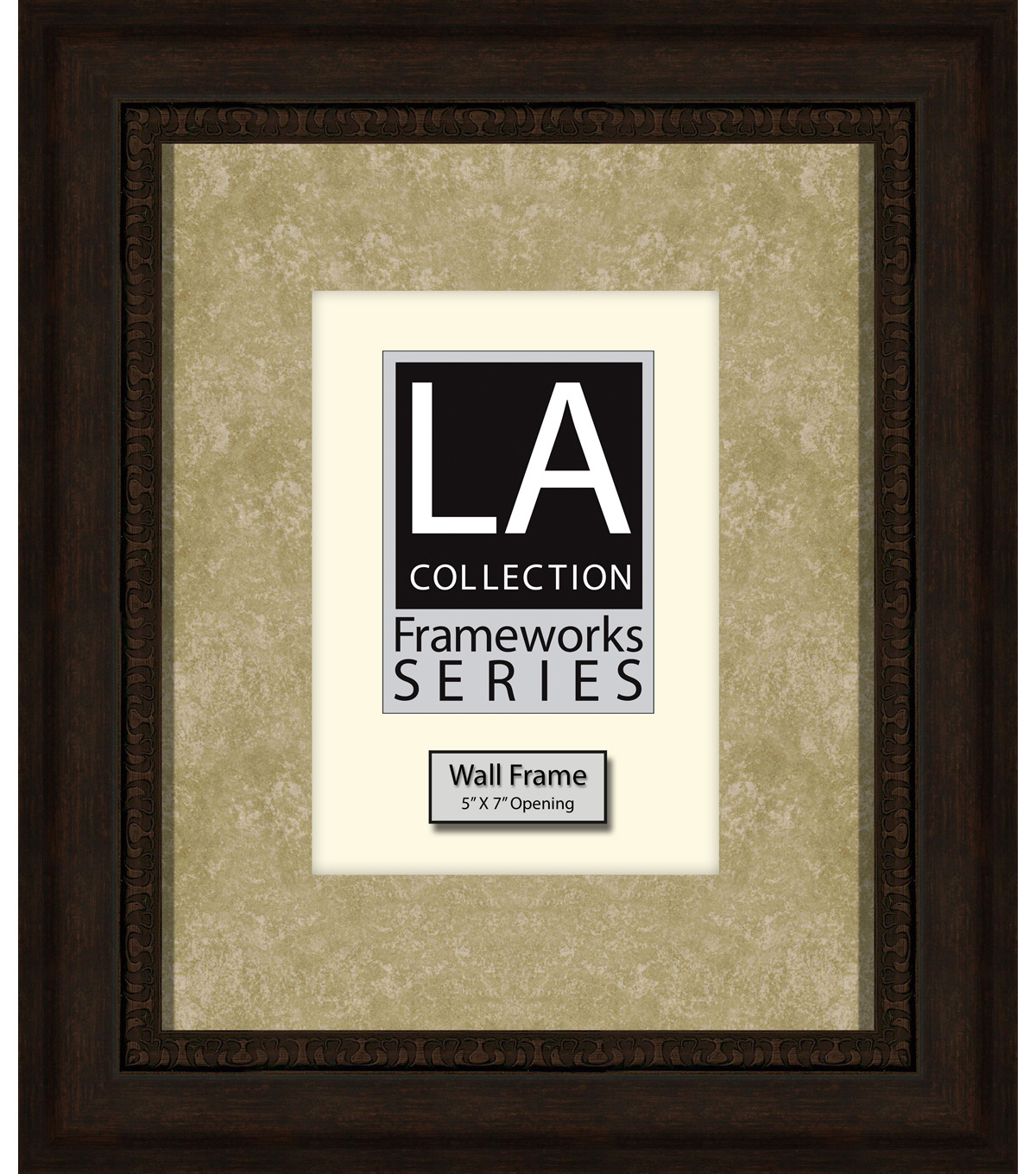 LA Collection Wall Frame 8X10-Bronze