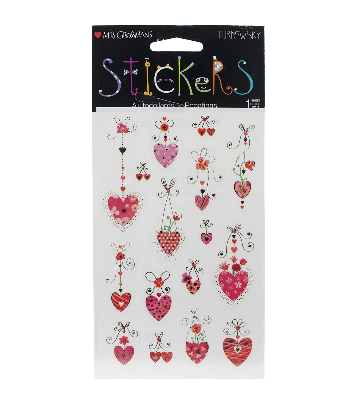 Mrs. Grossman\u0027s Stickers-Hanging Hearts