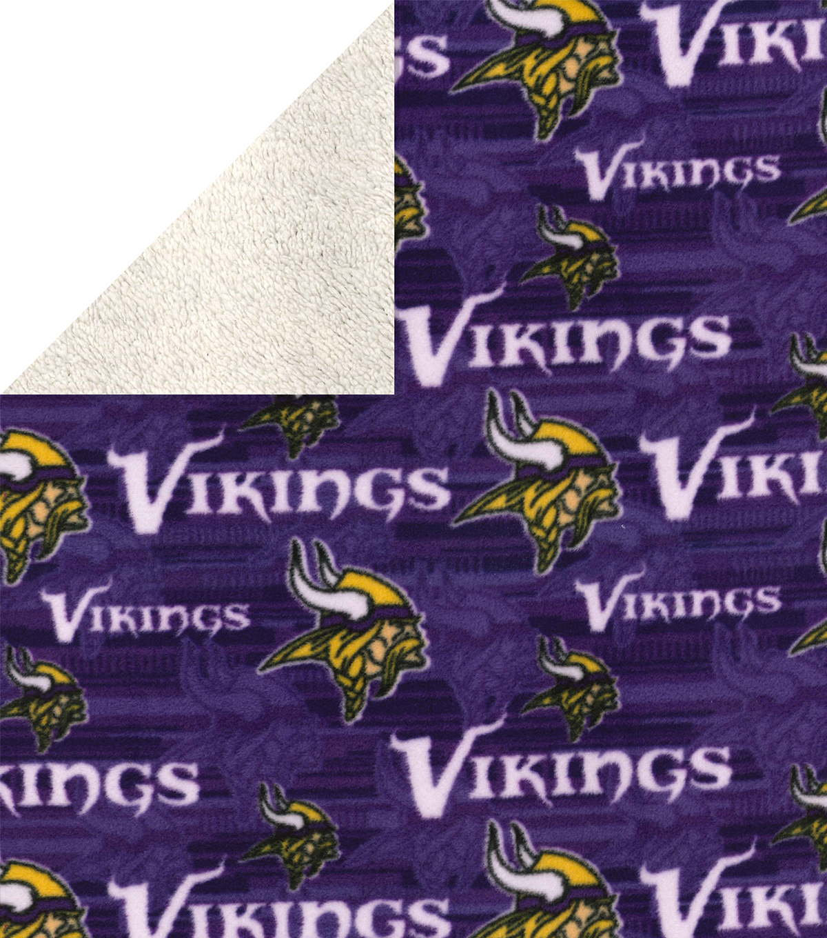 Minnesota Vikings Sherpa & Fleece Fabric