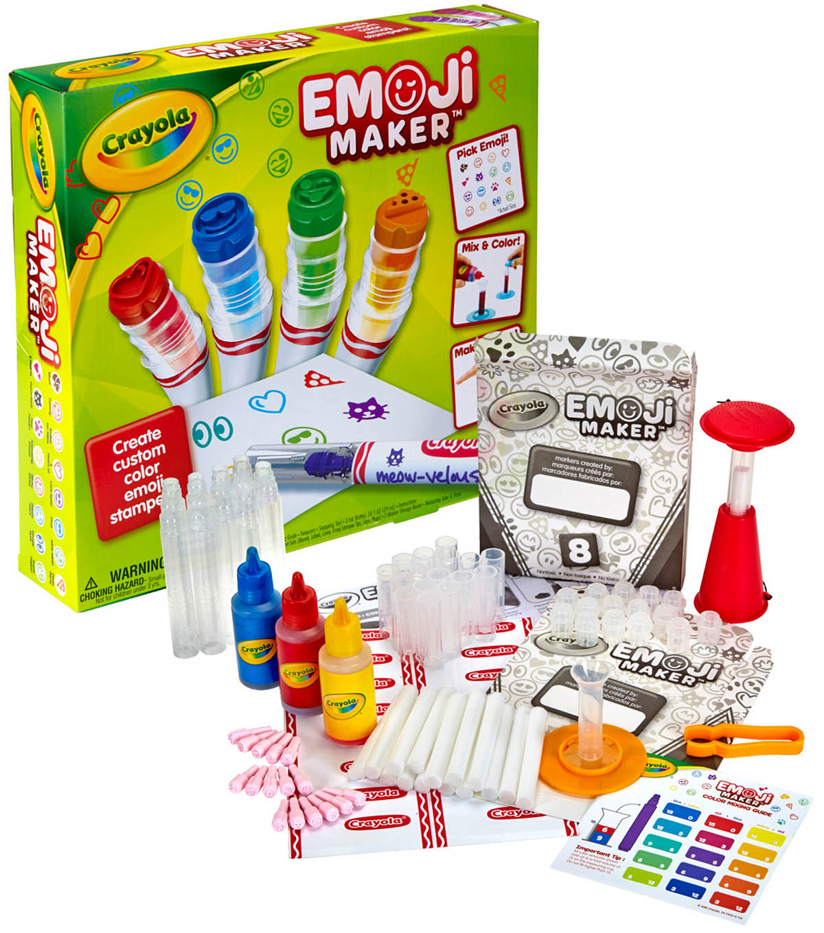 Crayola Emoji Marker Maker With Tips