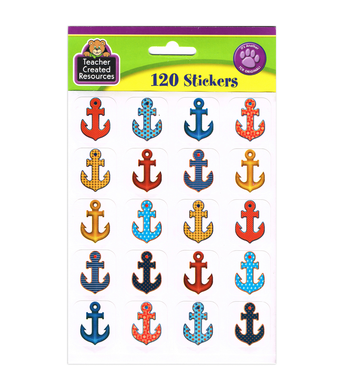 Teacher Created Resources Anchors Stickers 12 Packs
