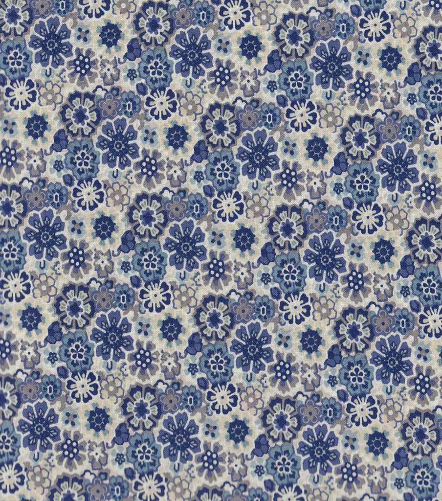 Keepsake Calico Cotton Fabric -Hippie Indigo