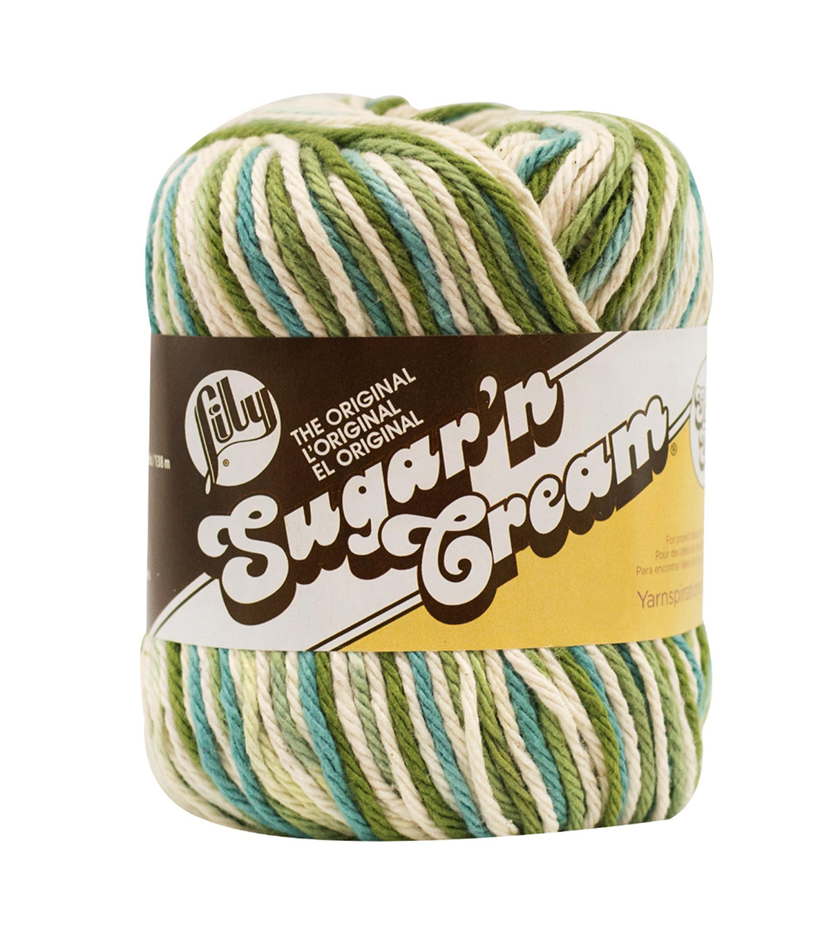 Lily Sugar\u0027n Cream Super Size Yarn, Emerald Isle