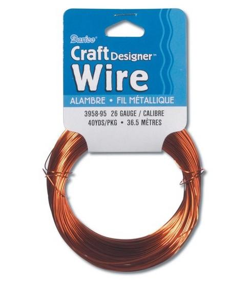 26 Gauge Wire >> Darice Craft Designer 26 Gauge Wire Joann
