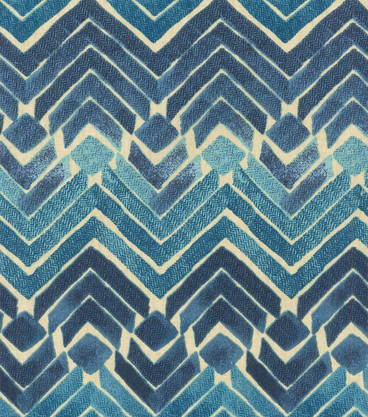 Kelly Ripa Multi-Purpose Decor Fabric 54\u0022-Zen Blend Indigo