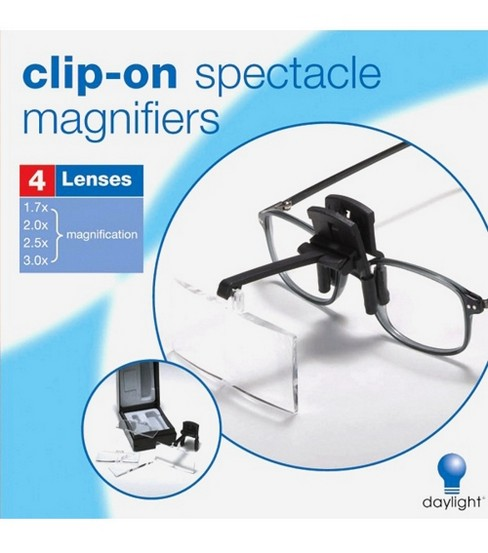 ClipOn Spectacle Magnifier