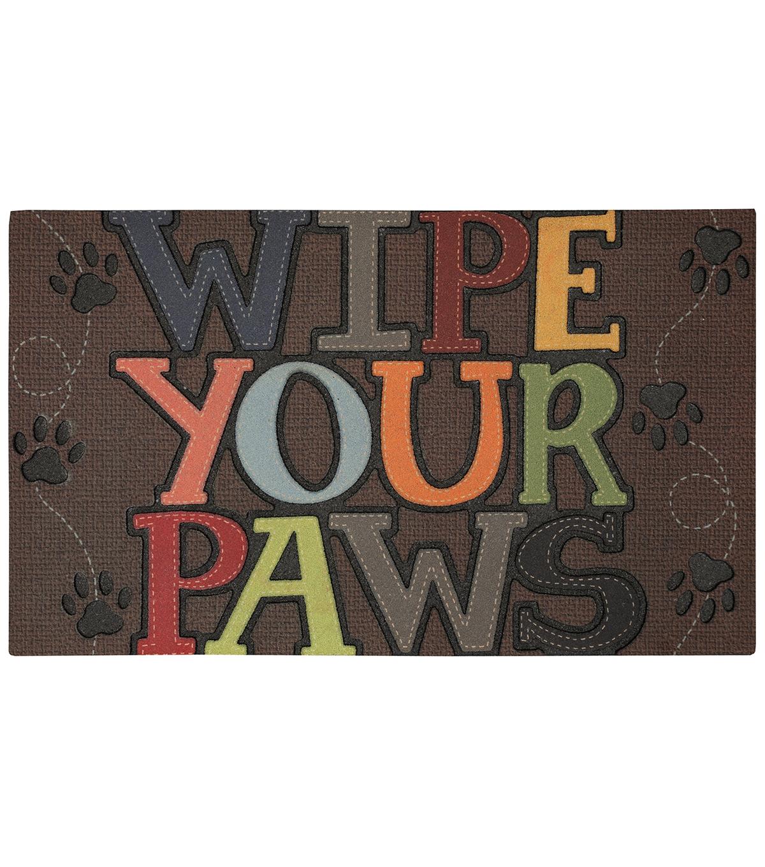 Mohawk Home 18x30 Doormat Wipe Your Paws Joann