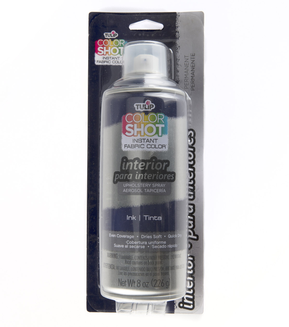 Tulip ColorShot 8oz Indoor Upholstery Spray, Ink