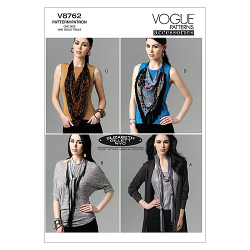 Mccall Pattern V8762 All Sizes -Vogue Pattern
