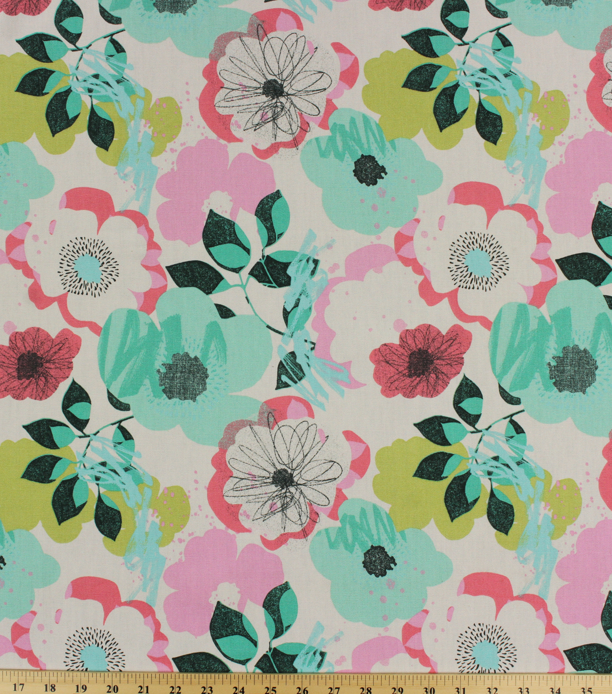 Home Essentials Lightweight Decor Fabric 45\u0027\u0027-Visalia Sweet