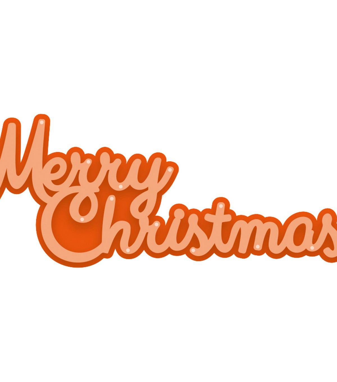 tonic studios christmas sentiments 2 pk dies cursive merry christmas