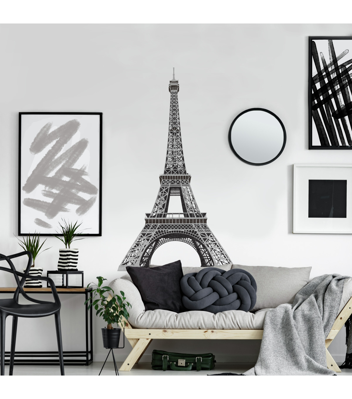 York Wallcoverings Wall Decals-Eiffel Tower Giant