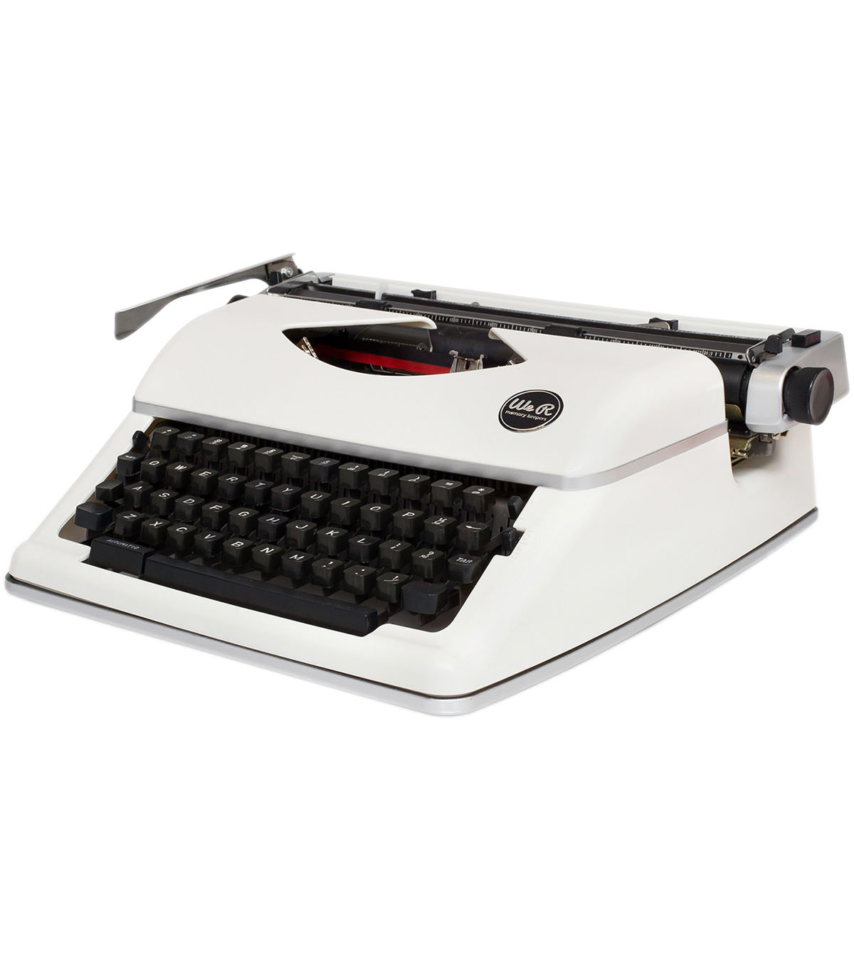 We R Typecast Typewriter-White