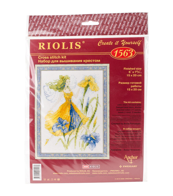 RIOLIS 6\'\'x7.75\'\' Counted Cross Stitch Kit-Sunny Day Fairy | JOANN
