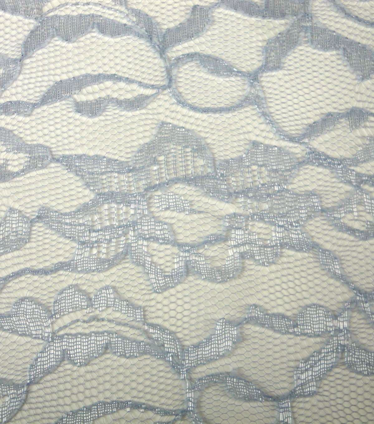 Casa Collection Lace Fabric 58\u0022-Gray Dawn