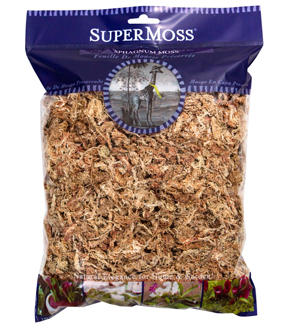 Sphagnum Moss Dried Natural 4Oz