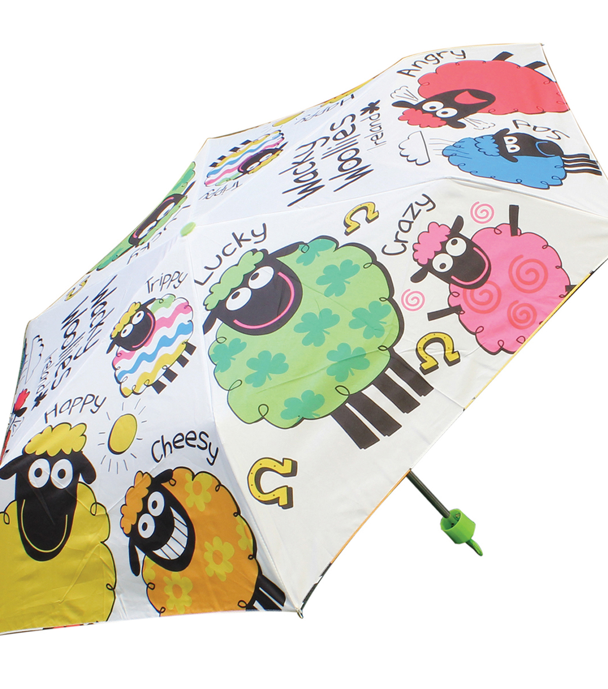 Wacky Woollies Umbrella 32\u0022X32\u0022