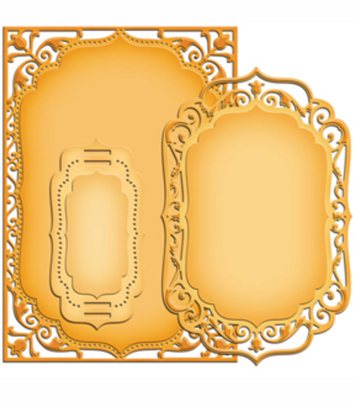 spellbinders nestabilities card creator dies elegant labels 4 joann