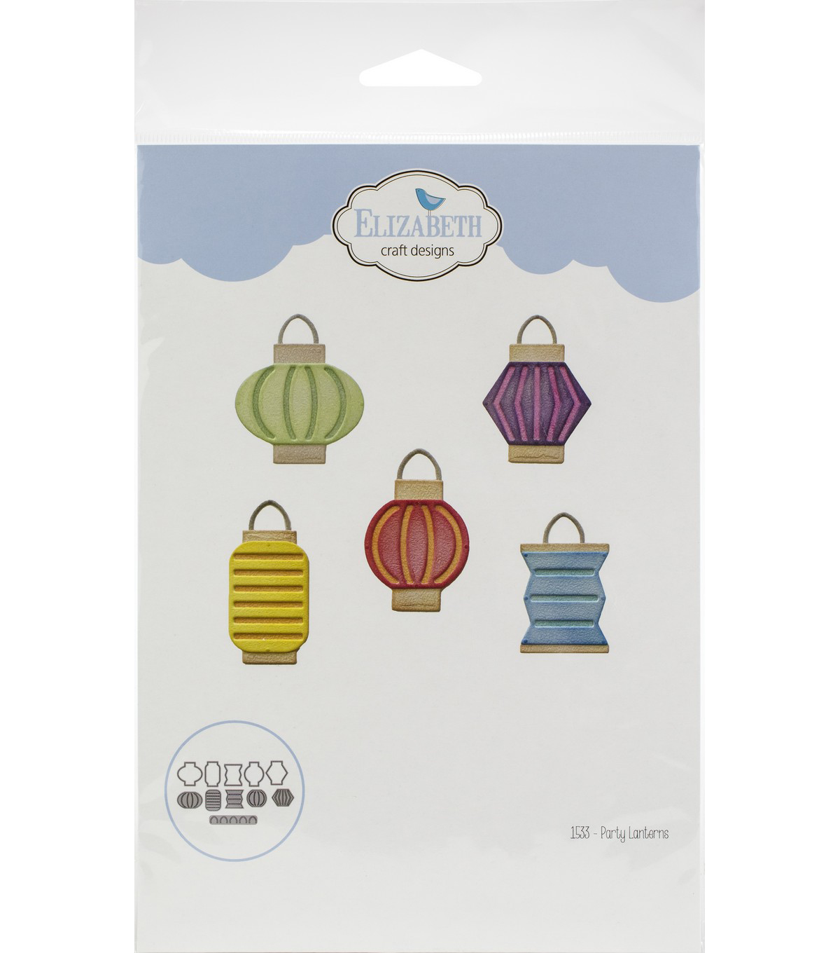 Elizabeth Craft Metal Die-Party Lanterns
