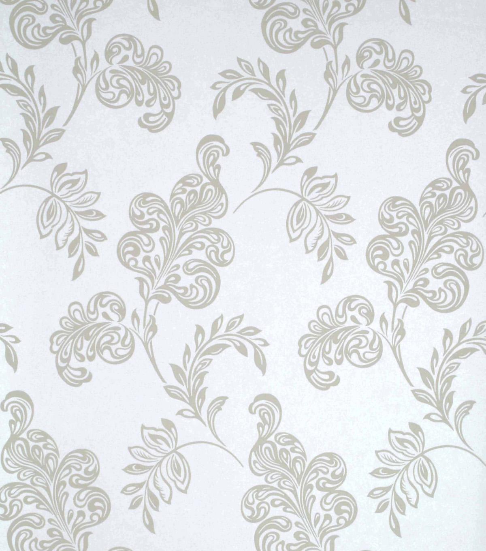 Karimah Light Blue Jacobean Wallpaper Sample Joann