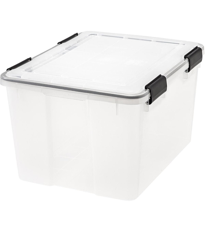 Perfect IRIS WEATHERTIGHT Storage Box 46.6 QT