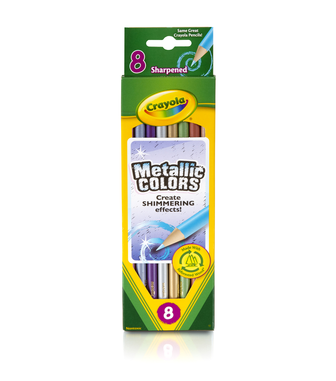 Crayola Metallic Colored Pencils Joann