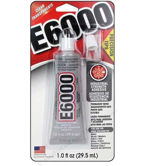 Eclectic E6000 1 fl oz. Adhesive with Precision Tips