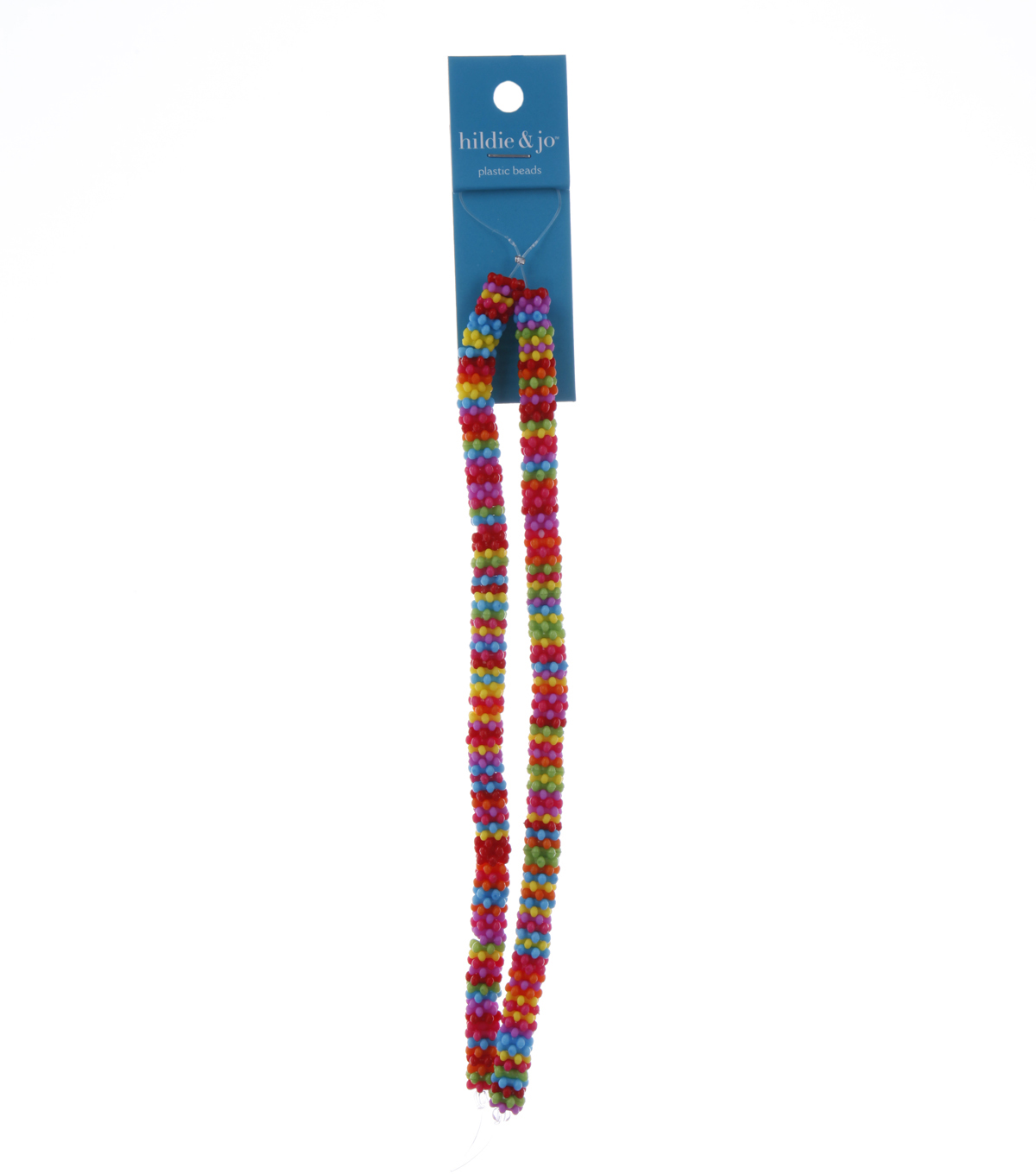 Blue Moon Beads Strand 14\u0022Plastic Rondelle Flower, Multi