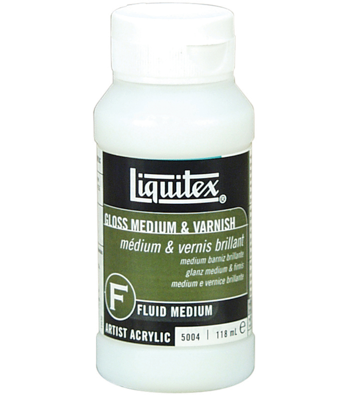 Liquitex Gloss Acrylic Fluid Medium & Varnish 4oz
