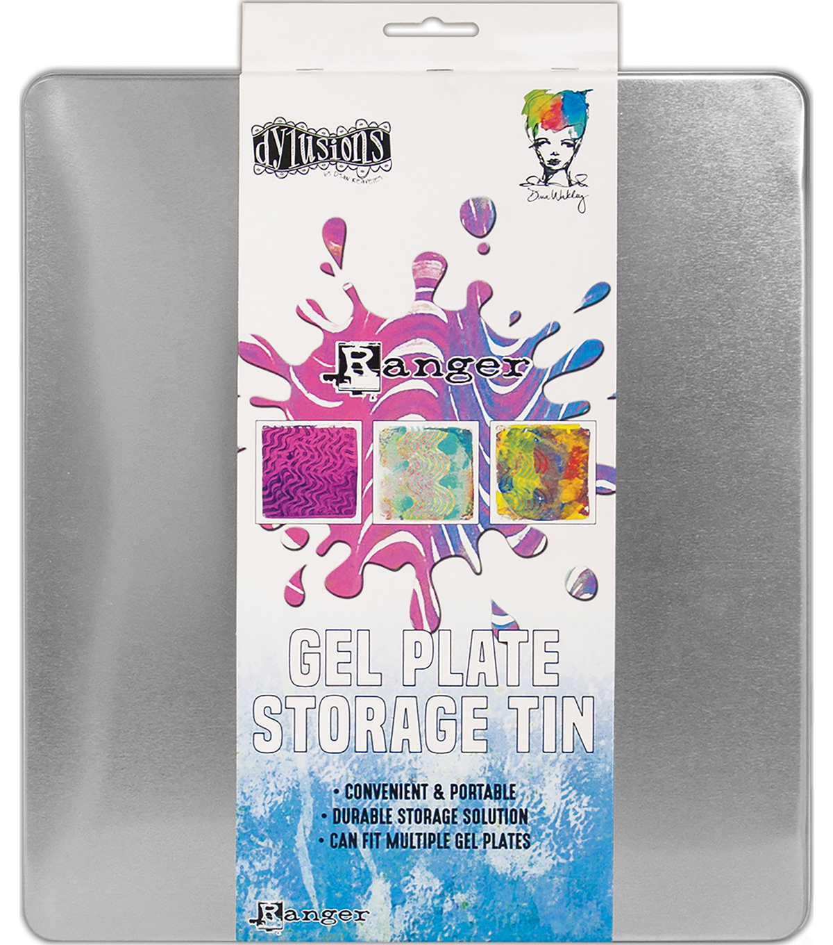 Ranger Dyan Reaveley\u0027s Dylusions Gel Plate Storage Tin
