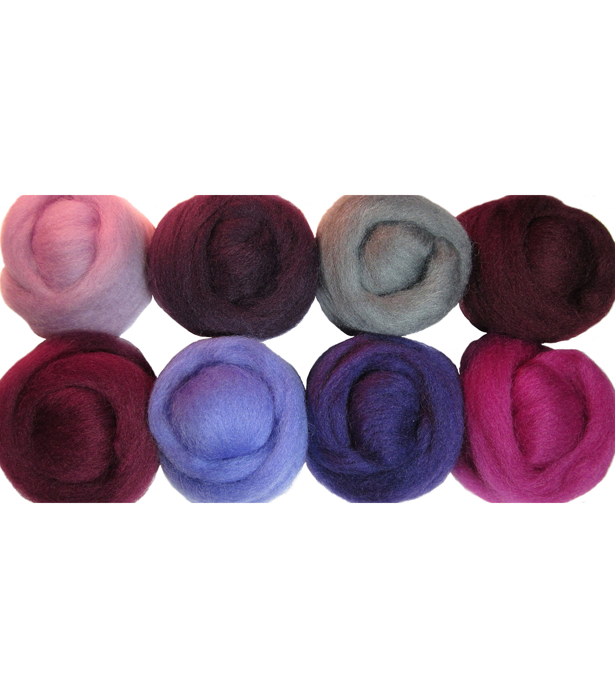 Wistyria Editions Ultra Fine Wool Roving, Lilacs