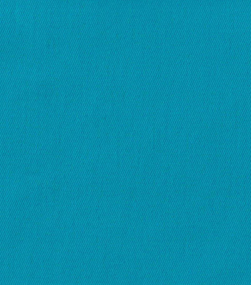 7 oz Solid Stretch Denim Fabric-Turquoise
