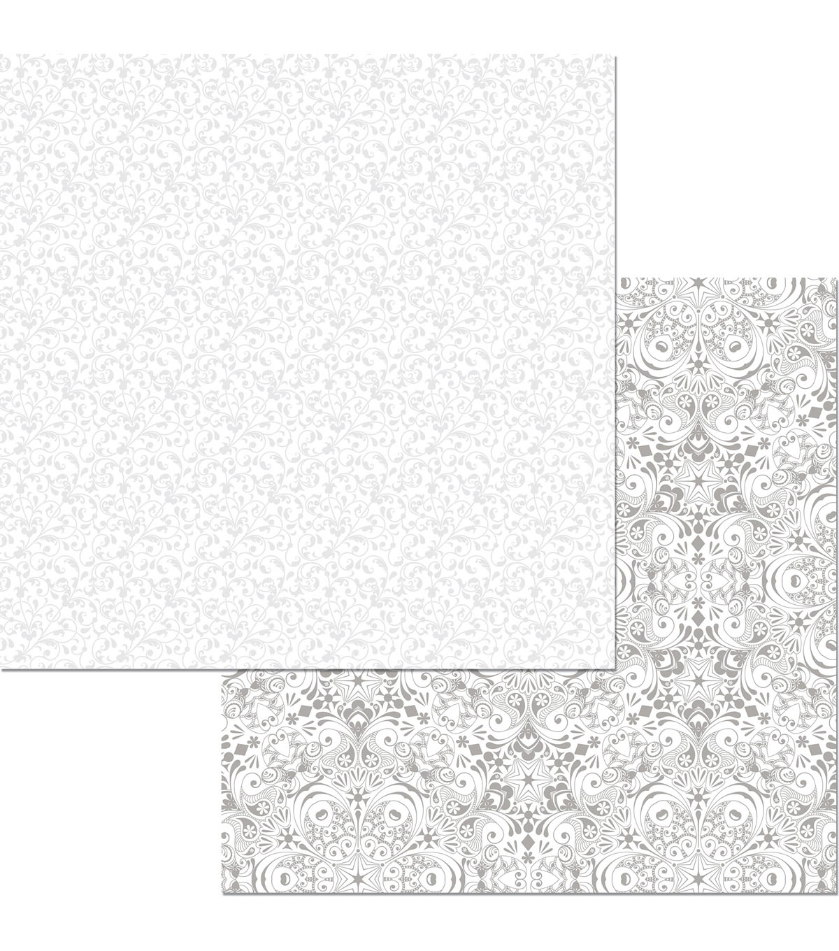 BoBunny Black Tie Affair 25 pk 12\u0027\u0027x12\u0027\u0027 Double-Sided Cardstock-Serenade