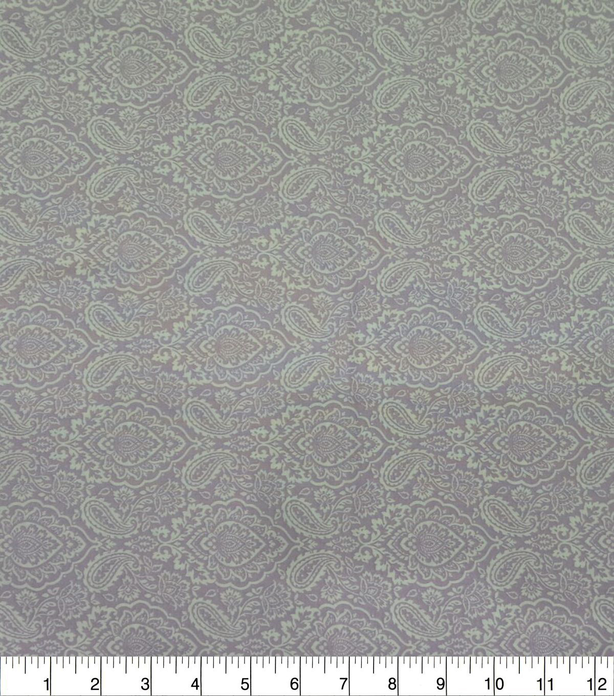 Quilter\u0027s Showcase Cotton Fabric-Damask Lavender