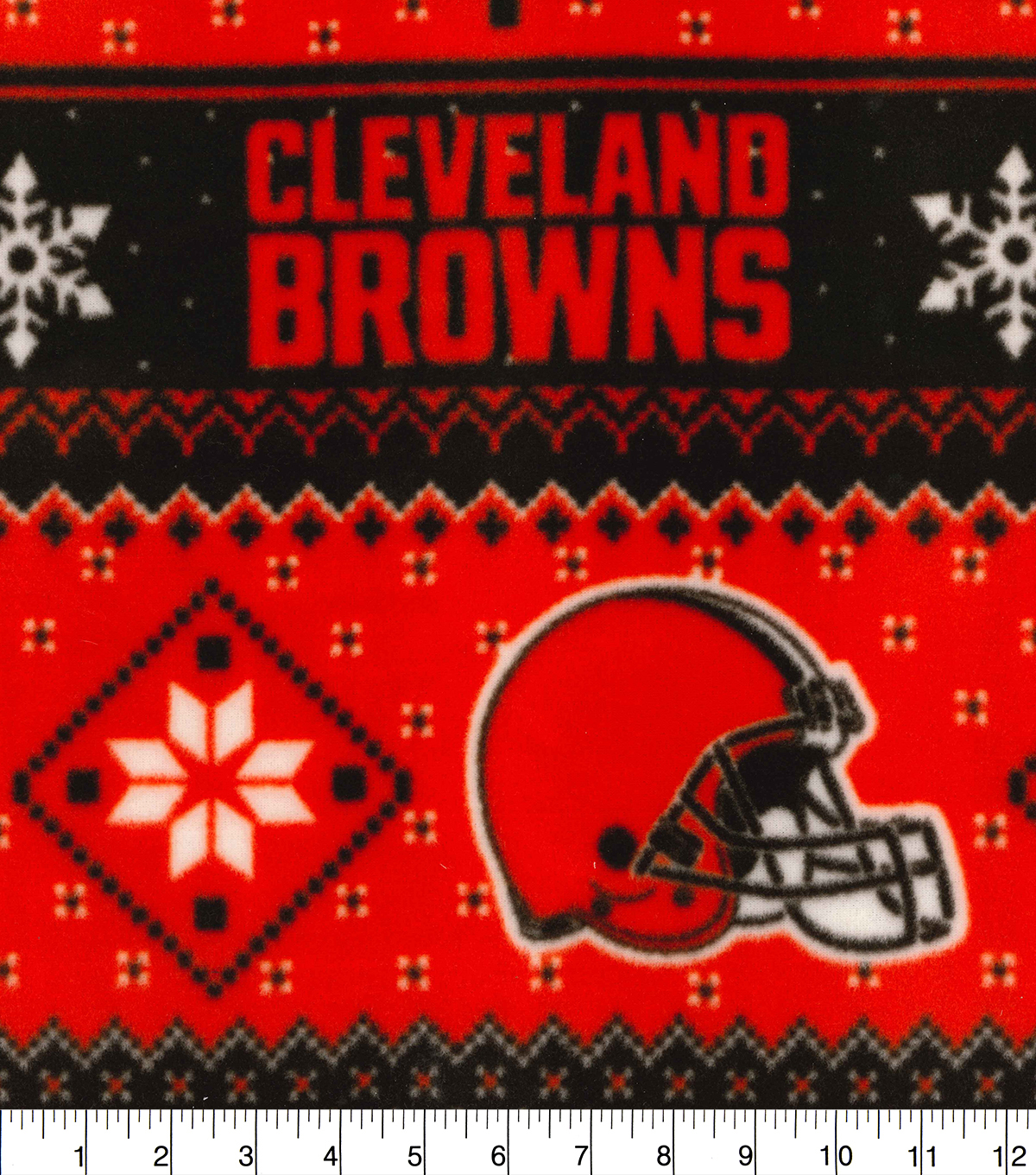 Cleveland Browns Fleece Fabric-Winter