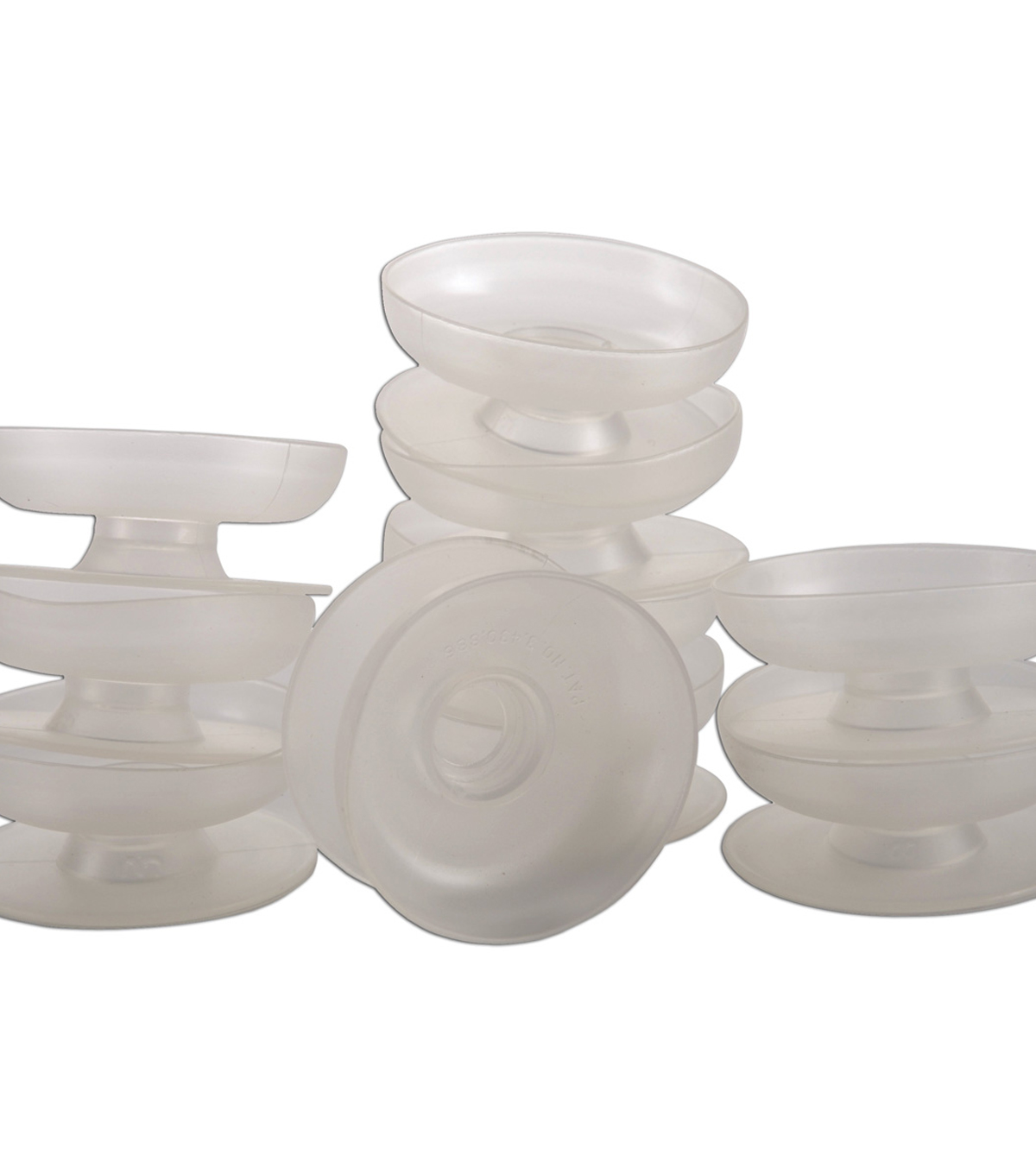 Lacis 10 pk 1.25\u0027\u0027 Thread Winders/Bobbins-Clear
