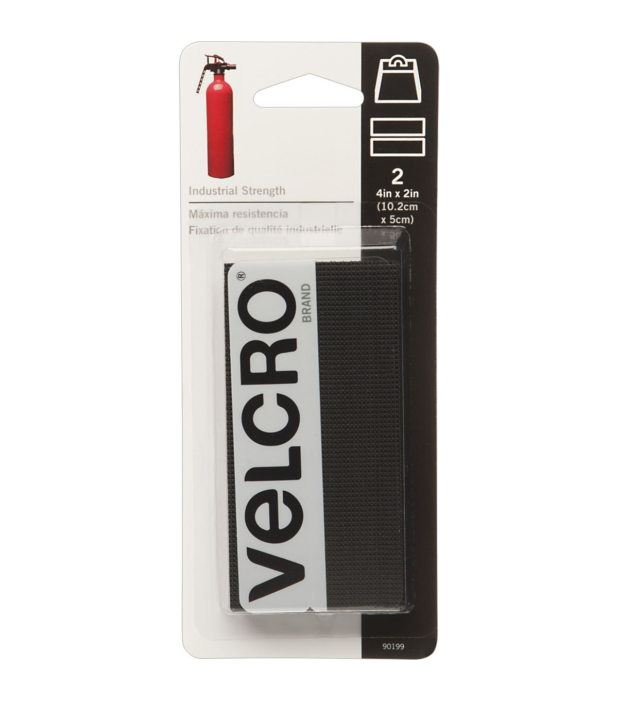 "VELCRO® Brand Industrial Strength Tape Black 2/"" x 15/'"