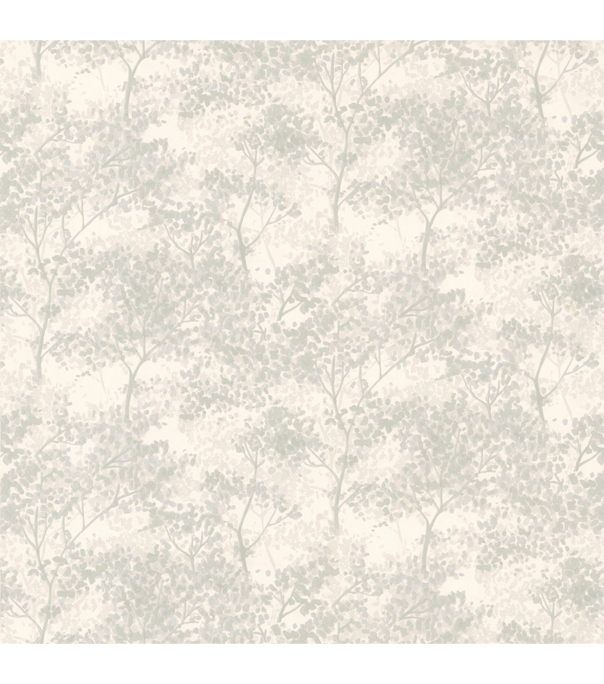 Vernon Light Green Tree  Wallpaper