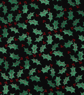 Christmas Cotton Fabric 43\u0022-Ditsy Holly