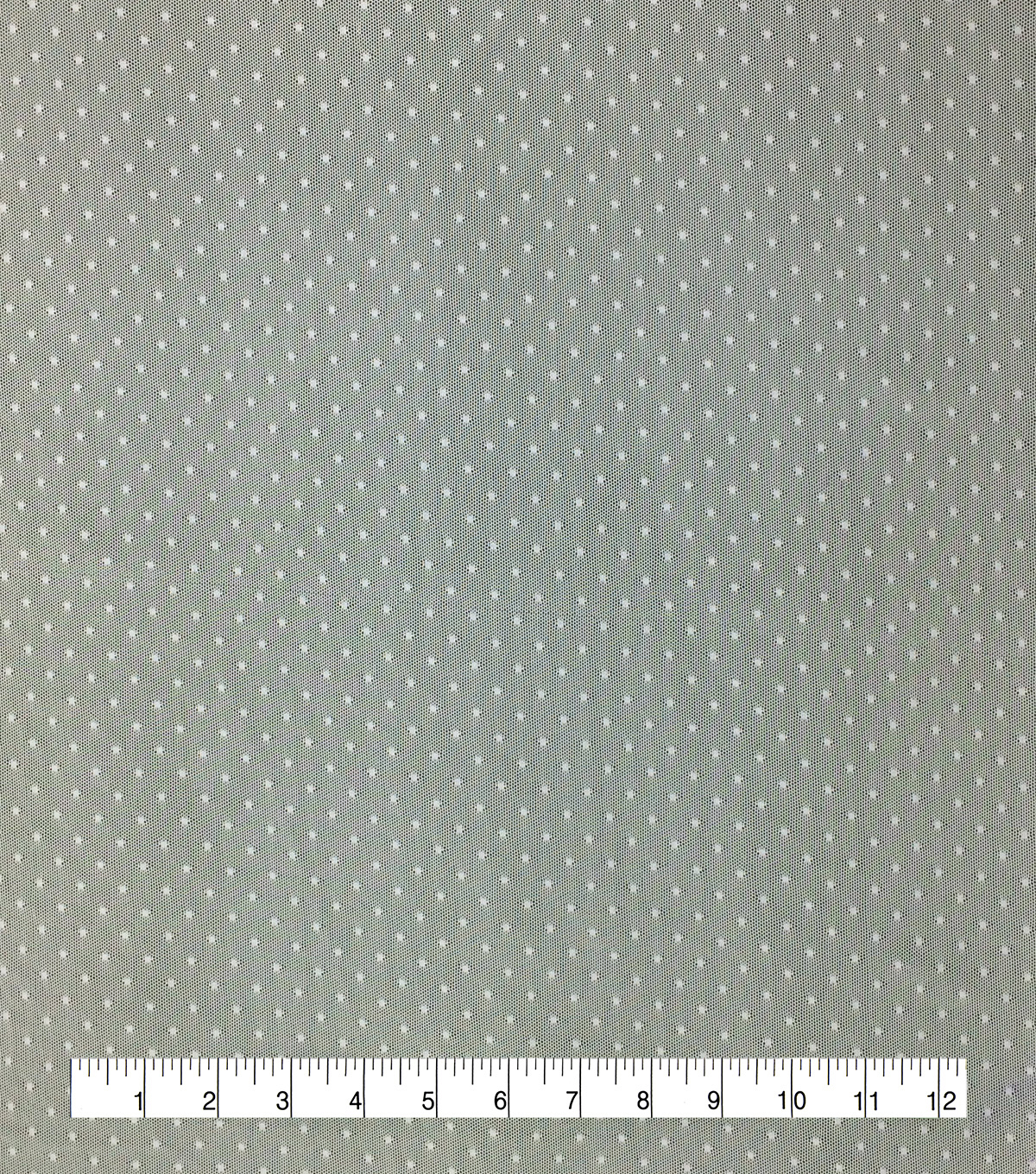Save the Date Dotted Mesh Fabric 54\u0022-Eggnog