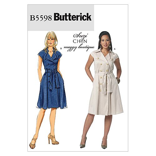 Mccall Pattern B5598 Bb (8-10-1-Butterick Pattern