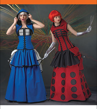 Simplicity Patterns 1095-Misses\u0027 Time Travel Costumes