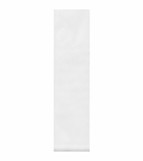 Single Face Satin Craft Ribbon, White, 2-1/4\u0022 x 9 Ft