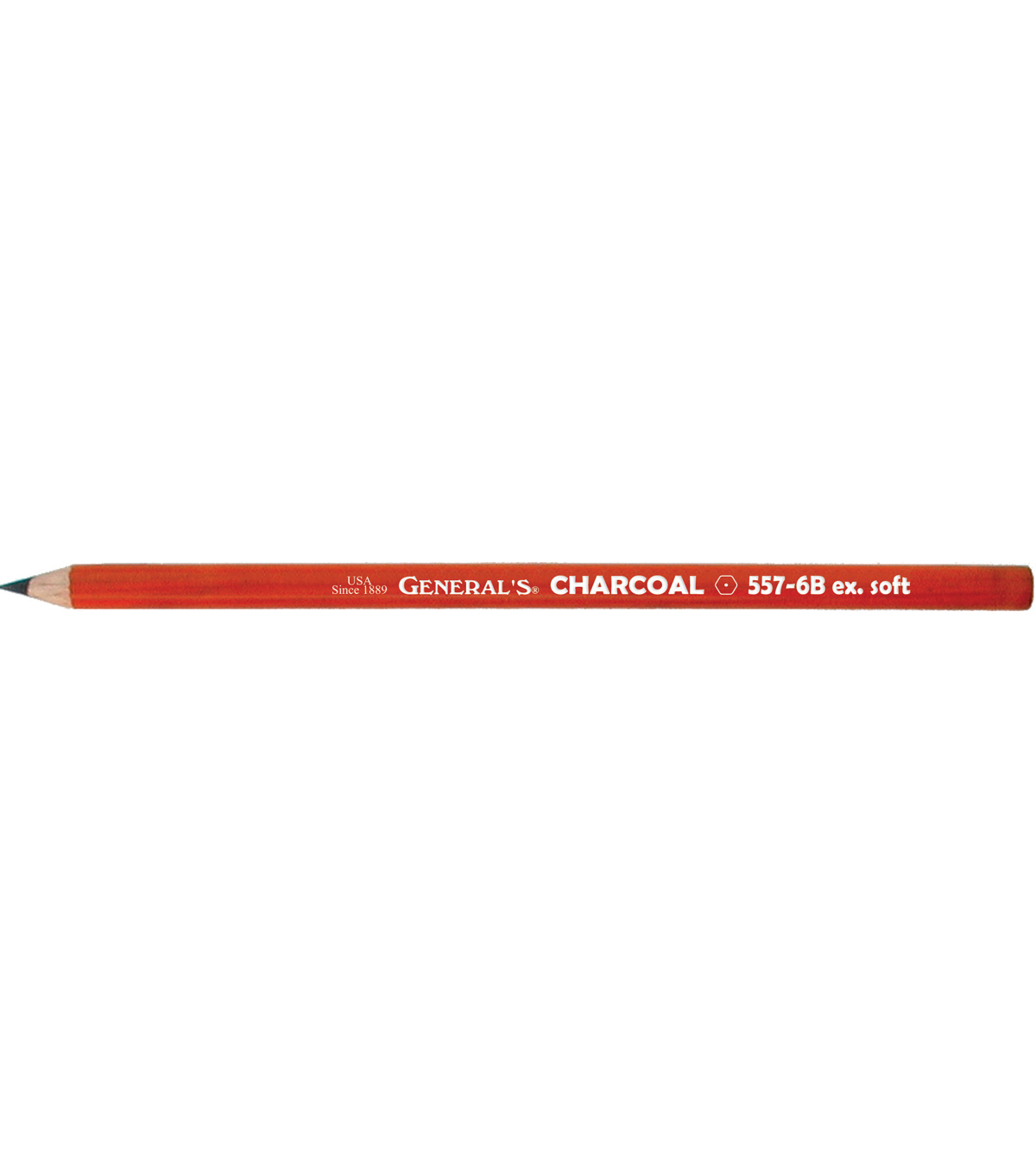Charcoal Drawing Pencils 2/Pkg-6B
